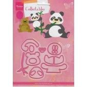 Marianne Design -  Collectables - Elines Panda & Beer (COL1409)*