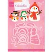 Marianne Design -  Collectables - Elines Sneeuwpop  (COL1413) (25% KORTING)*