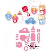 Marianne Design -  Collectables - Elines baby speelgoed (COL1421)