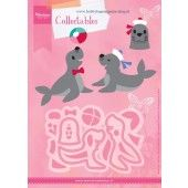 Marianne Design -  Collectables - Eline`s zeehonden (COL1432)*