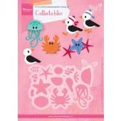 Marianne Design -  Collectables - Eline`s zeemeeuwen & friends (COL1433)*