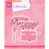 Marianne Design -  Collectables - Village decoration set cars (COL1435)*