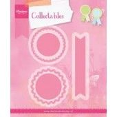 Marianne Design - Collectables - Rosettes & labels (COL1444) (25% KORTING)