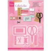 Marianne Design -  Collectables - Eline`s craft dates (COL1445) (20% KORTING)*