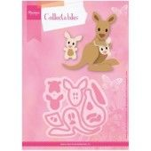Marianne Design -  Collectables - Eline`s kangaroo & baby (COL1446)