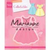 Marianne Design -  Collectables - dress 83x94mm (COL1452) (20% KORTING)