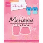 Marianne Design -  Collectables - Lady's suit 70x73mm (COL1453) (20% KORTING)