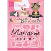 Marianne Design -  Collectables - Eline's kitten 118x91mm (COL1454)*