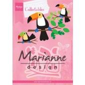 Marianne Design -  Collectables - Eline`s Toekan 83x73mm  (COL1457) (20% KORTING)*