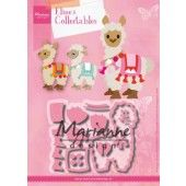 Marianne D Collectable Eline's Alpaca COL1470 98x77mm (07-19)