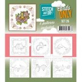 Stitch and Do - Cards only 26