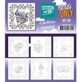 Stitch and Do - Cards only 38
