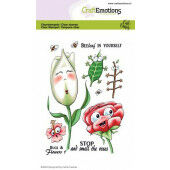 CraftEmotions clearstamps A6 - Bugs & flowers 1 Carla Creaties (03-21) (130501/1695)