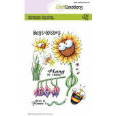 CraftEmotions clearstamps A6 - Bugs & flowers 3 Carla Creaties (03-21) (130501/1697)