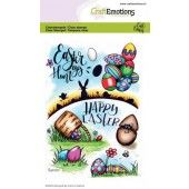 CraftEmotions clearstamps A6 - Easter 1 Carla Creaties (01-20) (130501/1668)