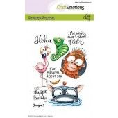 CraftEmotions clearstamps A6 - Jungle 2 Carla Creaties (05-20)