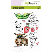 CraftEmotions clearstamps A6 - Love Puns 1 Carla Creaties (01-21)