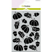 CraftEmotions Mask stencil Hedgy - herfst A5 Carla Creaties (08-21)