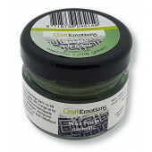 CraftEmotions Wax Paste metallic - groen 'turtle' 20 ml (09-20)*