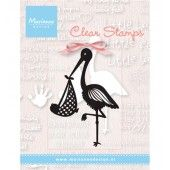 Clearstamp - Marianne Design - Ooievaar (CS0925)