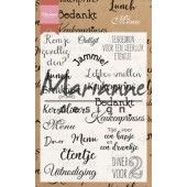 Marianne D - Clear Stamp - Menu CS1015 105x148 mm (CS1015) (20% KORTING)*