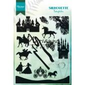 Marianne D Clear Stamps - Silhouette Fairytales - 110x150mm (CS1020)