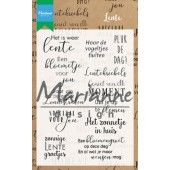 Marianne D Clear Stamps Lente CS1022 (03-19)*