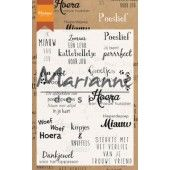 Marianne D Clear Stamps Poeslief (NL) CS1023 (04-19)*