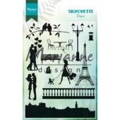 Marianne D Clear Stamps Silhouette Parijs CS1027 110x150 mm (06-19)*