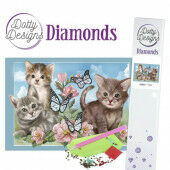 Dotty Designs Diamonds - Cats