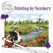Dotty Design Painting by Numbers - Landscape