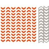 Marianne Design - Embossing folder + Die Tire Track (DF3407) (25% KORTING)*