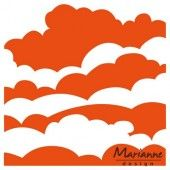 Marianne Design - Embossing folder - Wolken (DF3434) (25% KORTING)*