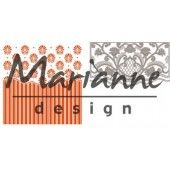 Marianne D Embossing folder + die Anja`s ornamental (DF3443)  (25% KORTING)*