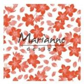 Marianne D Embossing folder - Blossom (DF3446) (20% KORTING)