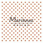 Marianne D Embossing folder - Polka Dots (DF3447) (20% KORTING)*