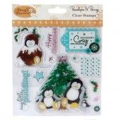 Clearstamp - Penelope & Percy - Cosy little christmas