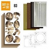 Hobbydots dot & do 083 - Amy Design - Vaderdag