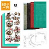 Hobbydots dot & do 085 - Yvonne Creations - Lieveheersbeestjes
