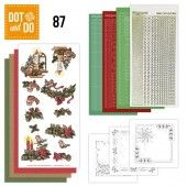 Hobbydots dot & do 087 - Yvonne Creations - Kerstsfeer