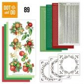 Hobbydots dot & do 089 - Jeanine's Art - Kerstballen