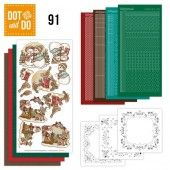 Hobbydots dot & do 091 - Yvonne Creations - Holly Jolly Mix