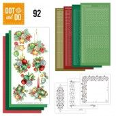 Hobbydots dot & do 092 - Jeanine's Art - Kerstkaarsen