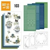 Hobbydots dot & do 103 - Fantastic flowers
