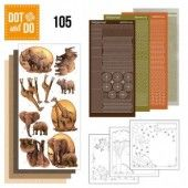Hobbydots dot & do 105 - Wild Animals