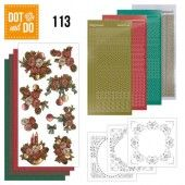 Hobbydots dot & do 113 - Christmas Flowers