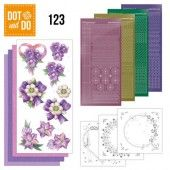 Hobbydots dot & do 123 - Purple Flowers
