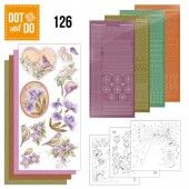 Hobbydots dot & do 126 - Vintage Flowers