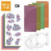 Hobbydots dot & do 134 - Purple Flowers