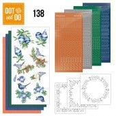 Hobbydots dot & do 138 - Blue Christmas